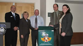Fife, Washington Dedication of Program Drop-Off Box