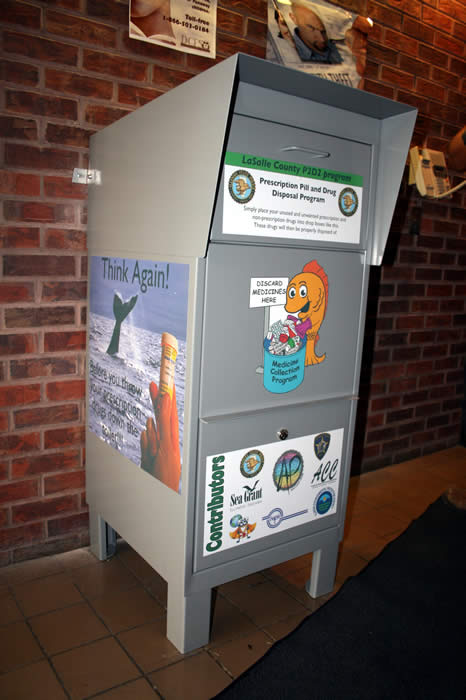 Illinois State Police District 17 Disposal Box